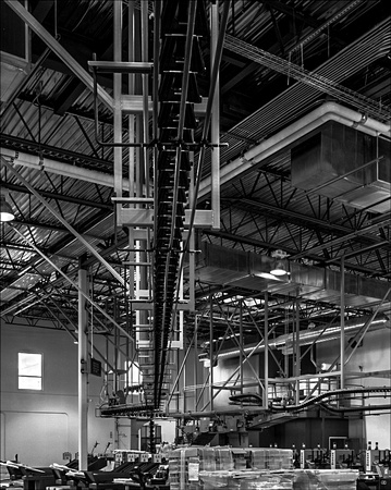 Pipes & Conveyor Lines, Press Room