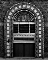 Arched Theater Entry